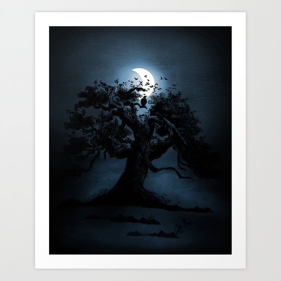 Moonlight II Art Print