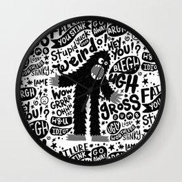 internal monologue Wall Clock