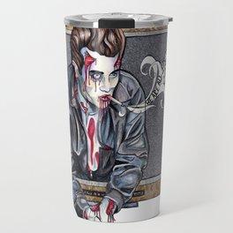 Zombie James Dean Travel Mug