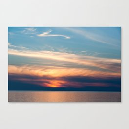 Meet Me On The Other Shore Canvas Print