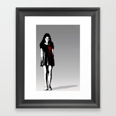 Bleeding Love Framed Art Print