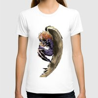 angel wings T-shirts featuring Angel by Patrícia Massano