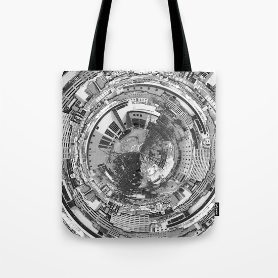 Around The City Center Tote Bag