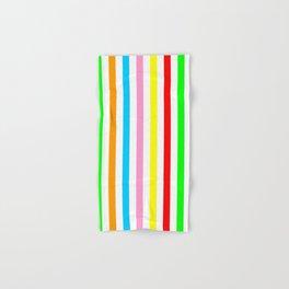multicolor columns-mutlicolor,abstraction,abstract,fun,line,geometric,geometrical,columns, Hand & Bath Towel