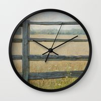 country Wall Clocks featuring Country by Pure Nature Photos