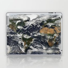 Map of Earth Laptop & iPad Skin