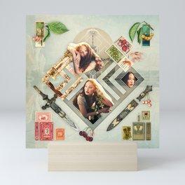 Soft :: Fine Art Collage Mini Art Print