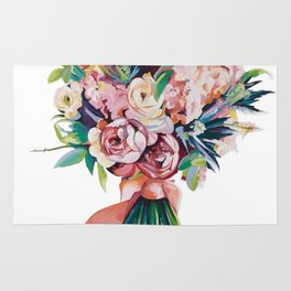 Wedding bouquet Rug