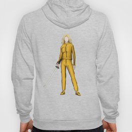 The Bride without a face (Kill Bill) Hoody