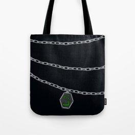 Slytherin Locket Horcrux Tote Bag