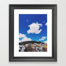 Beautiful Zacatecas Framed Art Print