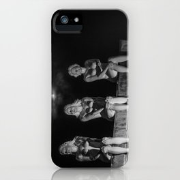 Porcelain Ladies in the Pale Moonlight iPhone Case