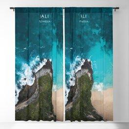 Bali, Indonesia Travel Artwork Blackout Curtain
