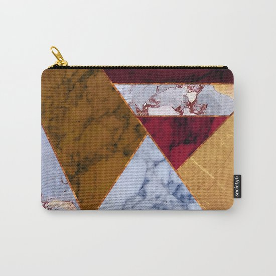 #437 Natural Textures Carry-All Pouch