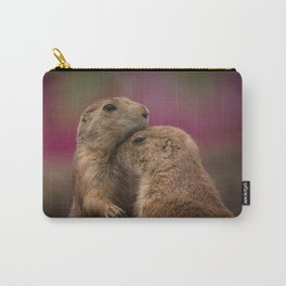 Loving Prairie Dogs Carry-All Pouch