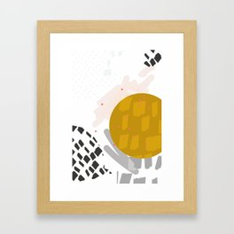 Waxing Moon Framed Art Print
