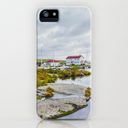 US Coast Guard - Station North Superior, Grand Marais, Minnesota 3 iPhone Case