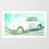 bug Art Prints featuring ♥ BUG by RDelean