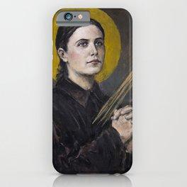 Santa Gemma Galgani iPhone Case