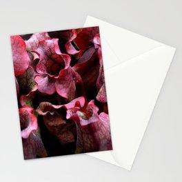 Carnivorous plant #1 Stationery Cards
