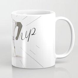 Perk Up Happy Coffee Vibes - Percolator home press caffeine art Coffee Mug
