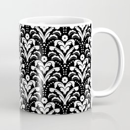 Art Deco Damask Classic Coffee Mug
