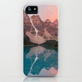 Moraine Lake, Canada iPhone Case