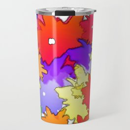 Cheery Abstract bouquet Travel Mug