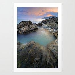"""Mediterraneo"" Art Print"