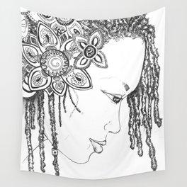Rasta Princess Wall Tapestry