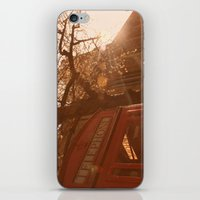 telephone iPhone & iPod Skins featuring Telephone. by Beth Retro