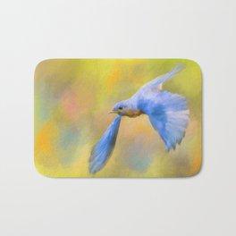 Bluebird Spring Flight Bath Mat