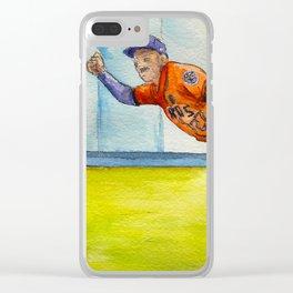 José Altuve – Astros Second Baseman Clear iPhone Case