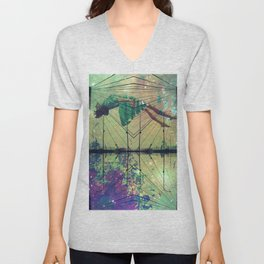 Bridging Time Unisex V-Neck