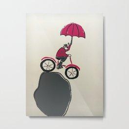 Float Off Metal Print