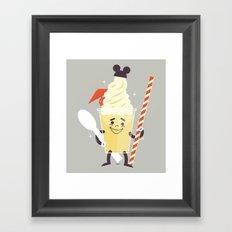 Dole Whip Framed Art Print