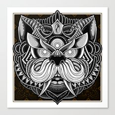 Javanese Ornate Dog Canvas Print