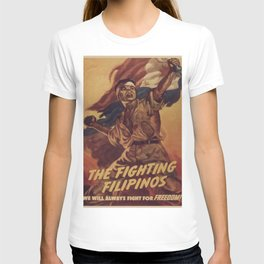 Vintage poster - The Fighting Filipinos T-shirt