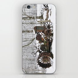 Steel and Snow iPhone Skin