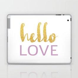 Hello Love 01 Laptop & iPad Skin