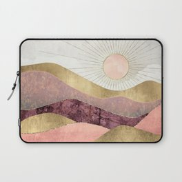 Blush Sun Laptop Sleeve