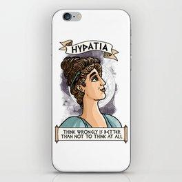 Hypatia of Alexandria iPhone Skin