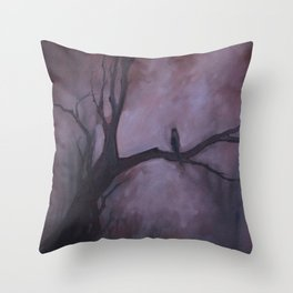 Free and Alone Throw Pillow