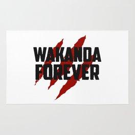 Wakanda Forever Rug