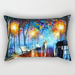 STARRY NIGHT TARDIS Rectangular Pillow