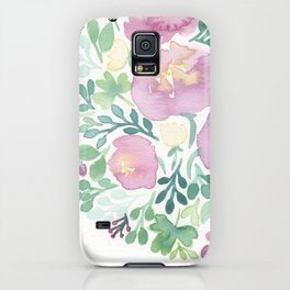 Pink and Green iPhone Case