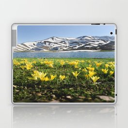 yellow flowers Laptop & iPad Skin