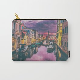 Canal and the Boats Carry-All Pouch