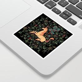Unicorn Garden Sticker