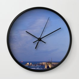The Dying Island Wall Clock